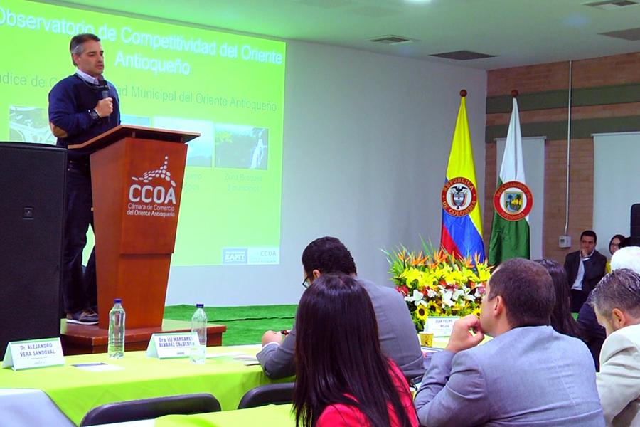 Photo of Se realizó el lanzamiento del observatorio de competitividad para el Oriente Antioqueño