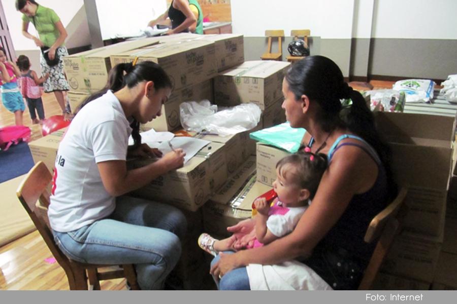 Photo of En La Ceja se continúa entregando el complemento alimentario del programa Maná