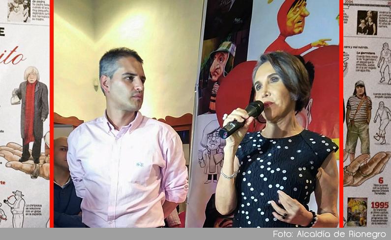 Photo of Con la presencia de Florinda Meza se dio inicio al Festival de Caricatura de Rionegro