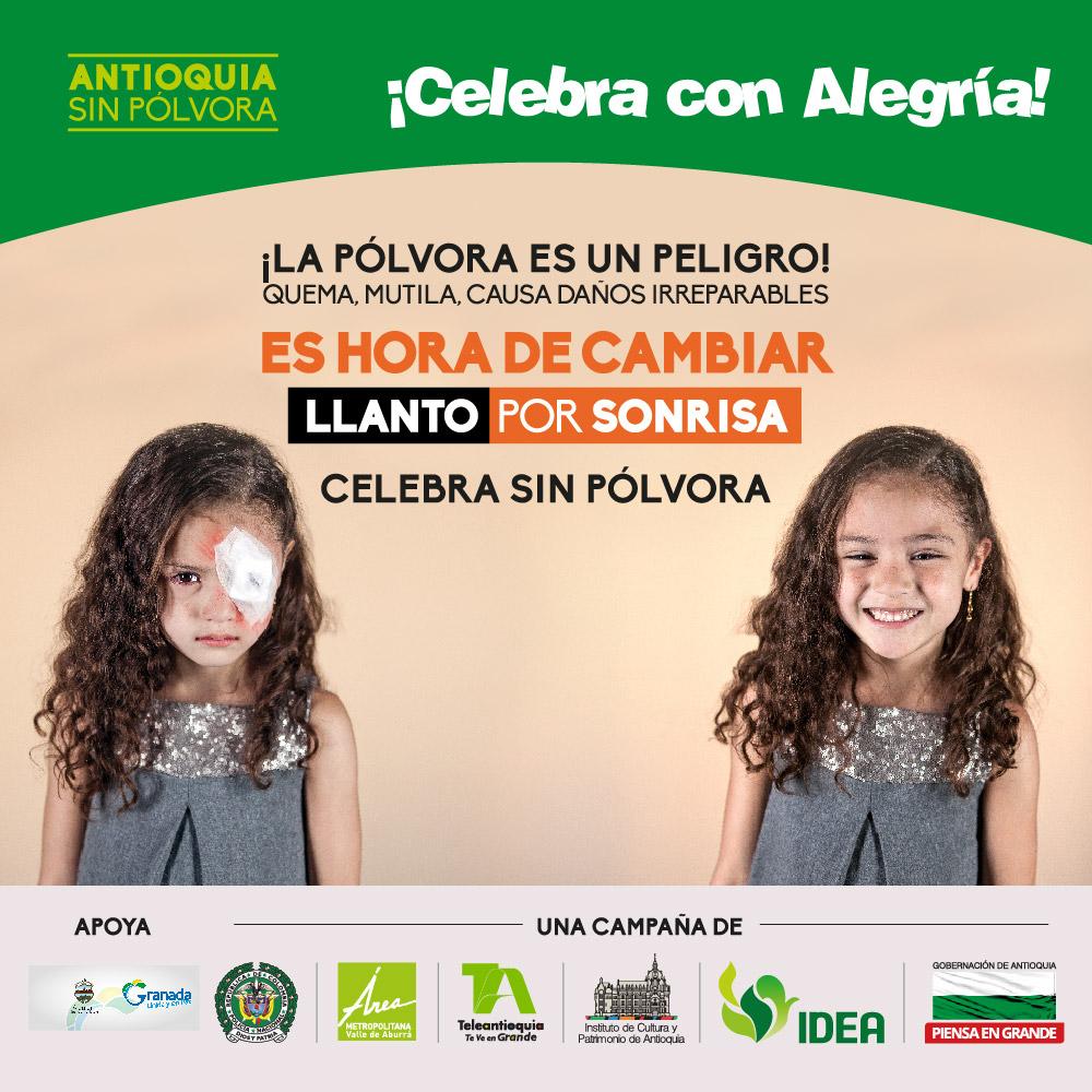Photo of Municipios del Oriente Antioqueño se une a la campaña «Antioquia sin pólvora»