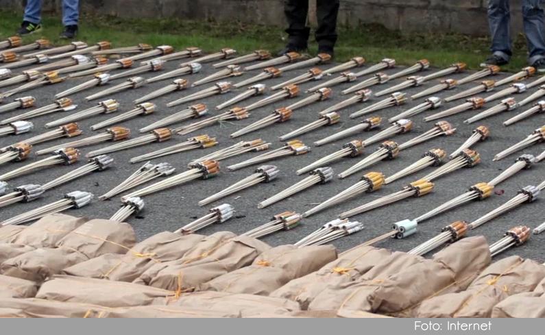 Photo of Autoridades incautaron en Rionegro una tonelada de pólvora