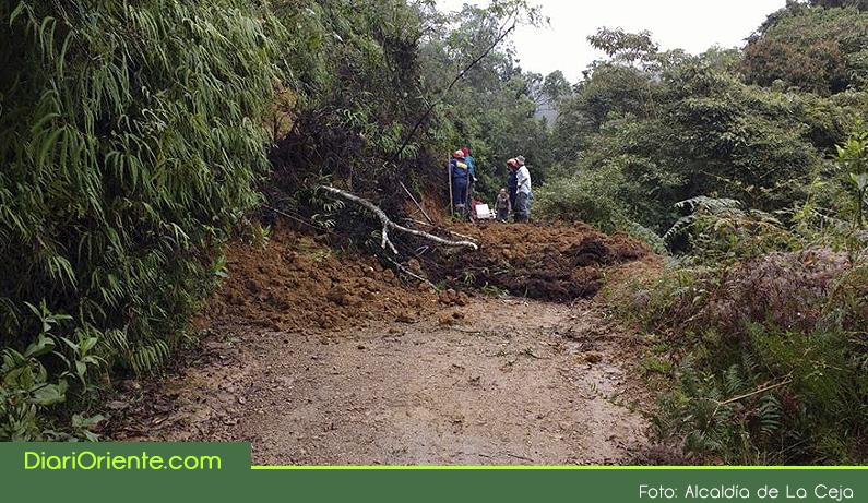 Photo of En La Ceja, varias zonas veredales han sido afectadas debido al aumento de las lluvias