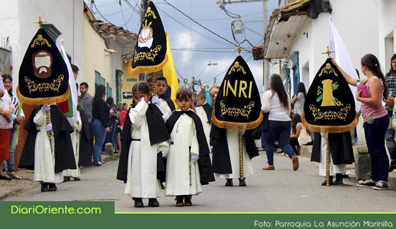 Photo of En Marinilla los niños viven su Semana Santica con fervorosidad