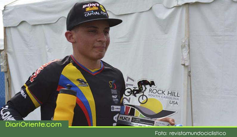Photo of El guarceño Juan Camilo Ramírez ganó el primer oro para Colombia en el Campeonato Mundial de BMX.