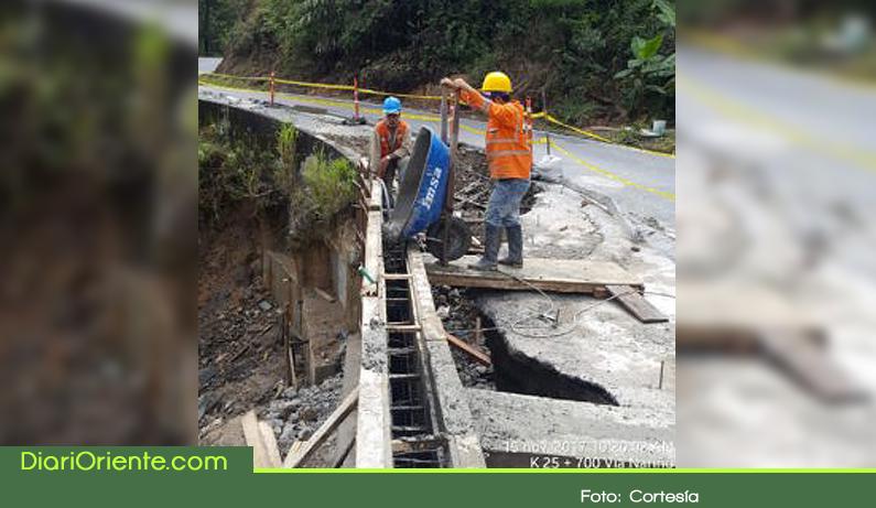 Photo of Fue atendido el punto crítico en la vía Sonsón-Nariño