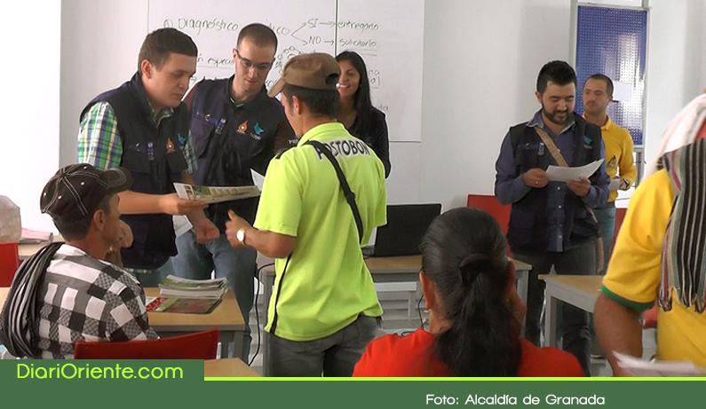 Photo of 75 familias de Granada del proyecto 'Somos Rurales' recibieron insumos para sus cultivos