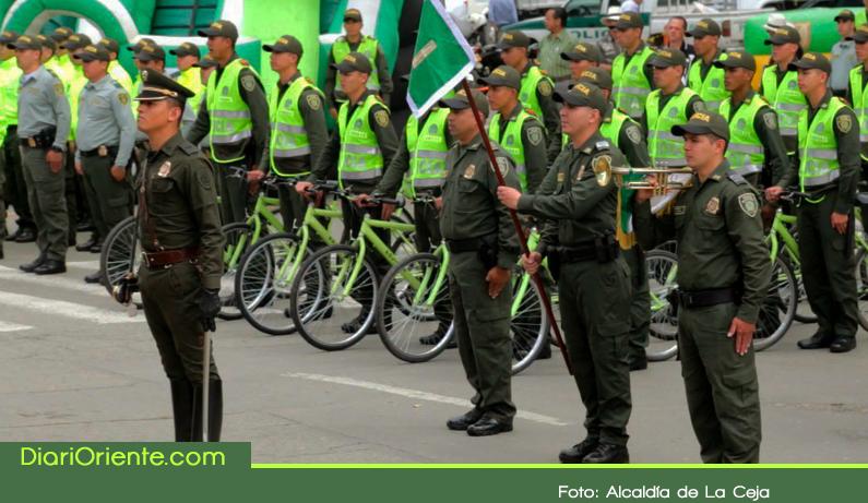 Photo of Un grupo de 30 nuevos auxiliares de Policía llegaron a reforzar seguridad en La Ceja