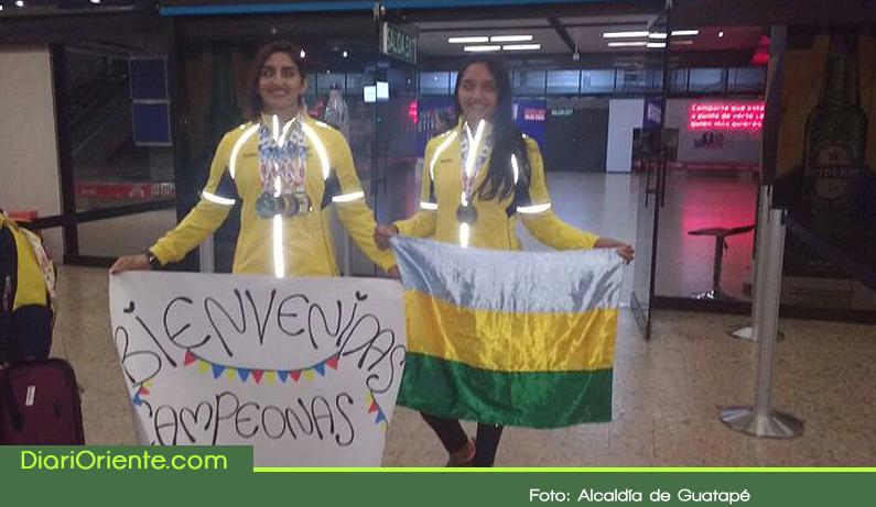 Photo of Deportistas de Guatapé se lucieron en canotaje en los Juegos Bolivarianos de 2017