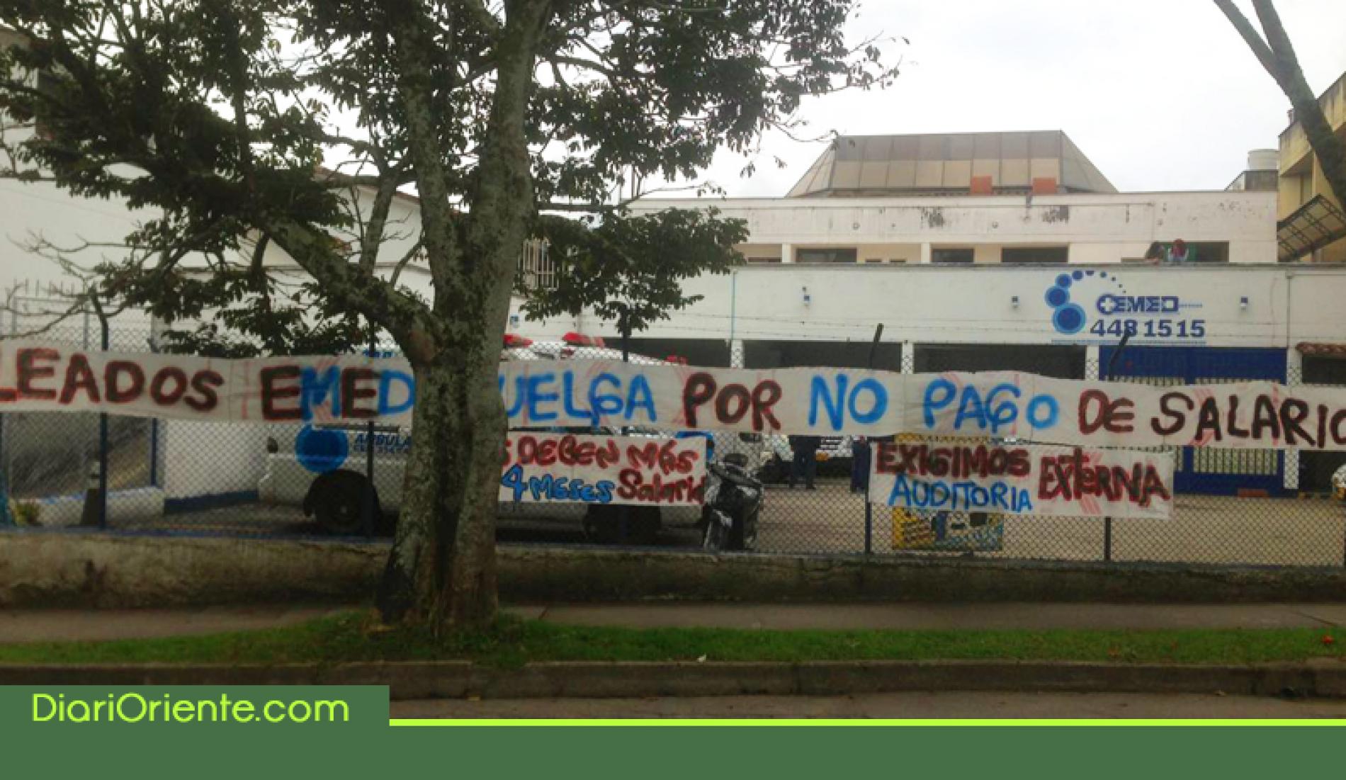 Photo of Paro de empleados de EMED sigue sin solución