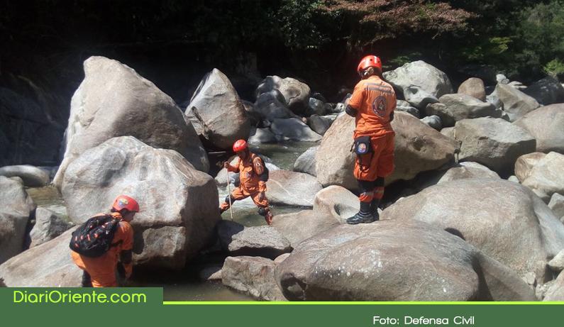 Photo of Socorristas hallaron el cuerpo de un hombre que se ahogó en Cocorná