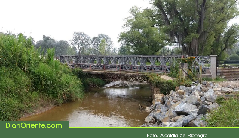 Photo of Instalados dos puentes militares en zona rural de Rionegro