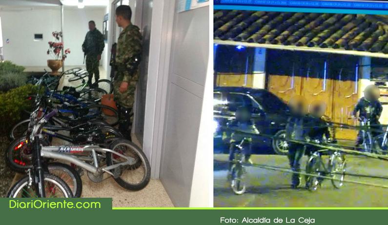 Photo of Autoridades incautaron 12 bicicletas modificadas para la práctica de Gravity Bike