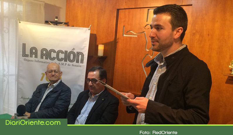 Photo of El periódico La Acción del municipio de Sonsón celebra 100 años de fundación