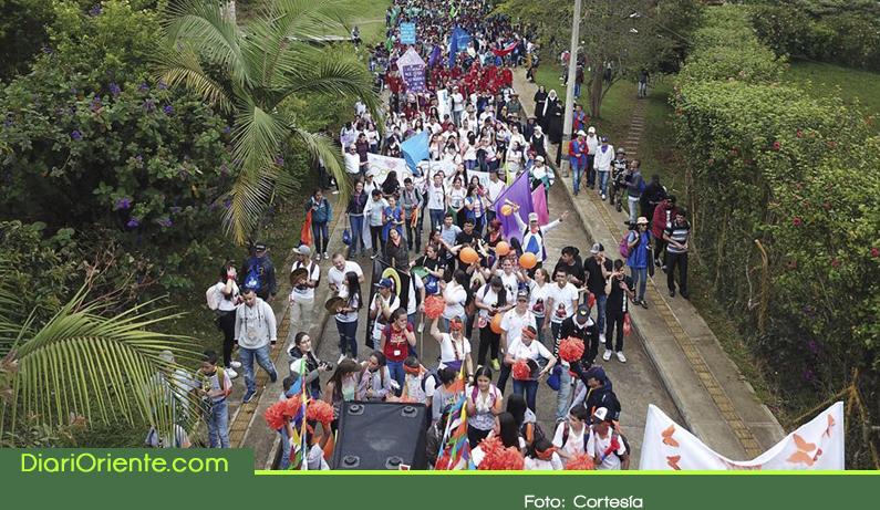Photo of En Marinilla, cerca de 2000 jóvenes participaron de la jornada Diocesana de la Juventud