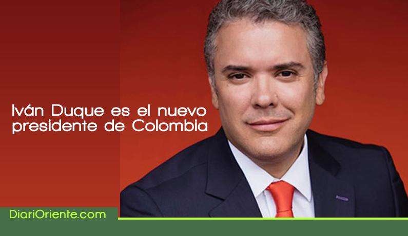 Photo of Iván Duque es elegido presidente de Colombia