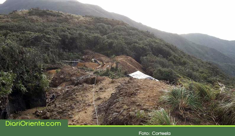 Photo of Autoridades realizaron operativo contra la minería ilegal en el páramo de Sonsón