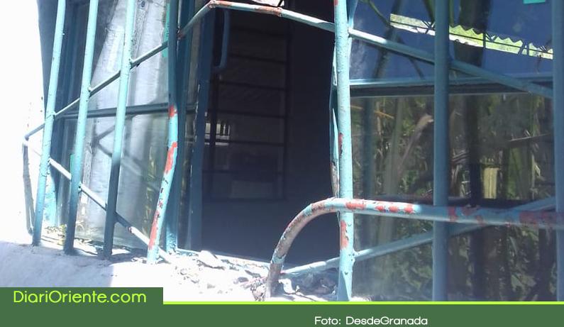 Photo of Una escuela rural de Granada fue la nueva víctima de los ladrones