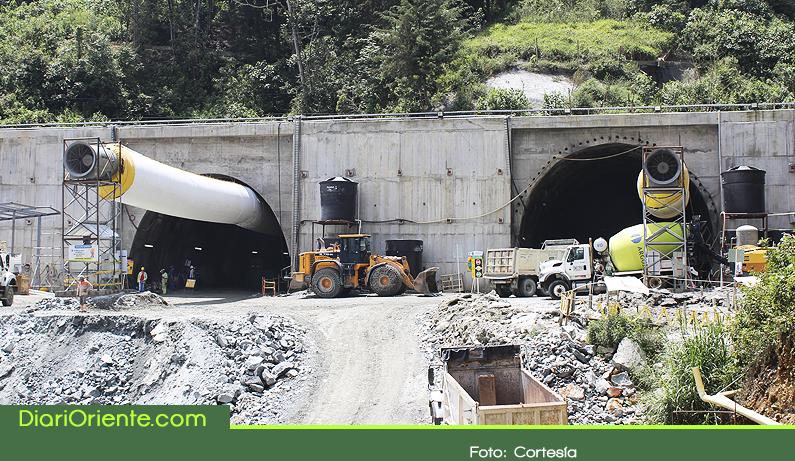 Photo of Obras de Túnel de Oriente van en un 86% y estaría listo en mayo