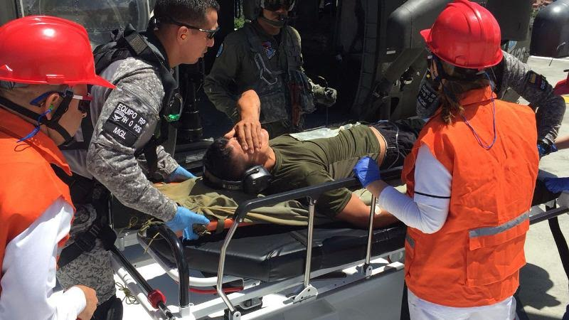 Photo of FAC evacua soldado profesional afectado por artefacto explosivo