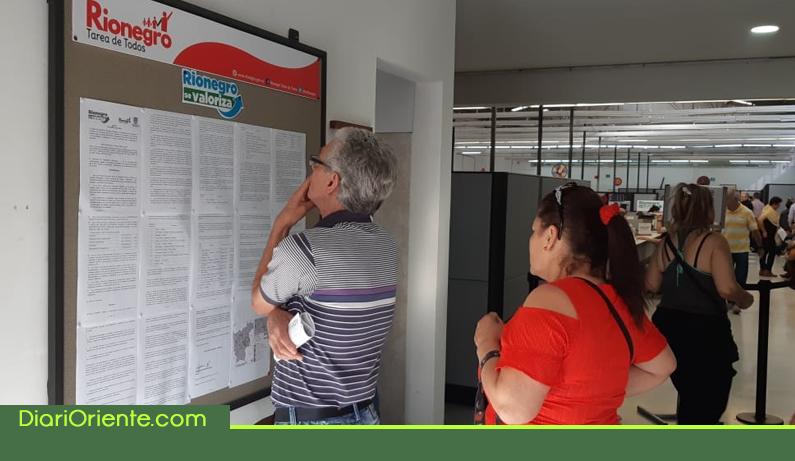 Photo of Habilitan punto para información sobre el cobro de valorización en Rionegro