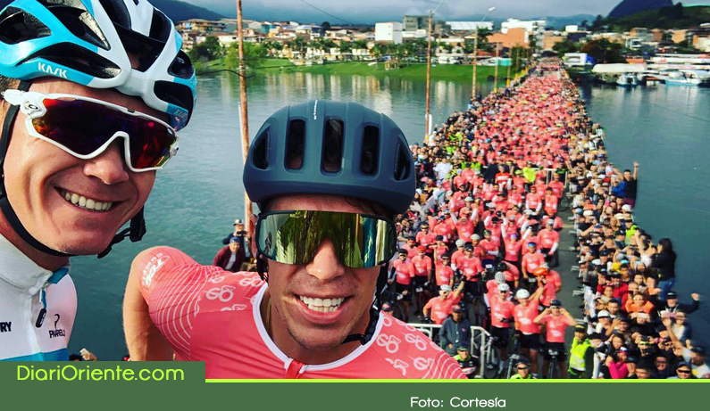 Photo of Miles de personas disfrutaron del Giro de Rigo por el Oriente Antioqueño