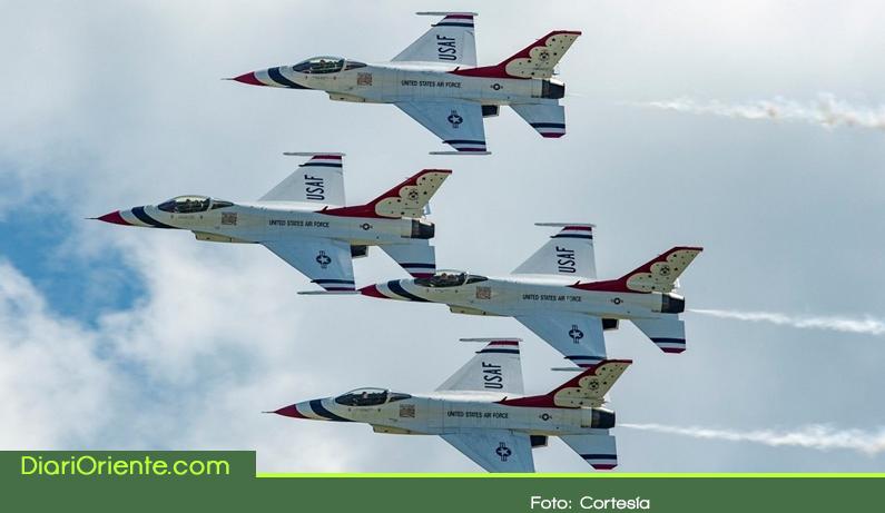 Photo of Los Thunderbirds uno de los mejores escuadrones del mundo estará en la F-AIR Colombia 2019