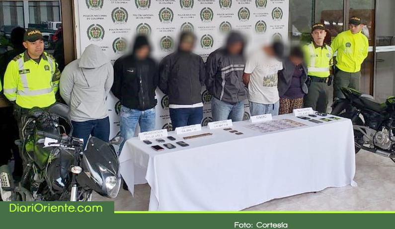 Photo of Capturan banda señalada de robo a fincas en el Oriente Antioqueño