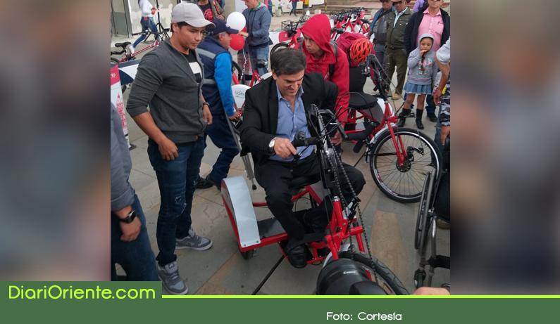 Photo of En Rionegro habilitan bicicletas públicas para personas con discapacidad