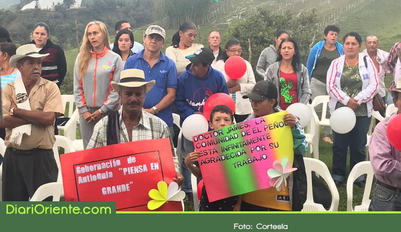 Photo of 63 familias campesinas de El Peñol recibirán agua potable