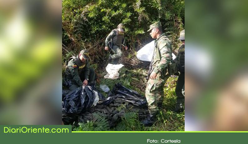 Photo of Hallan caleta con material de guerra en Marinilla