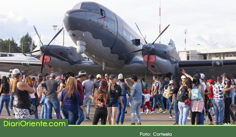 Photo of La Feria Aeronáutica en Rionegro recibió a más de 62.000 visitantes