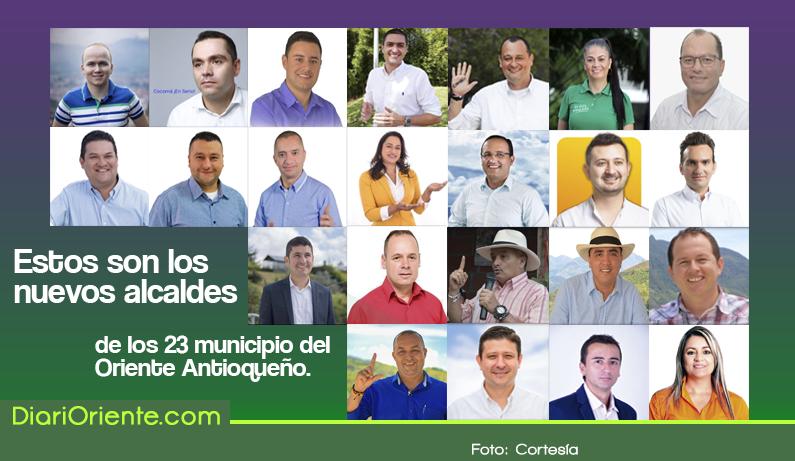 Photo of Los nuevos alcaldes de los 23 municipios del Oriente Antioqueño