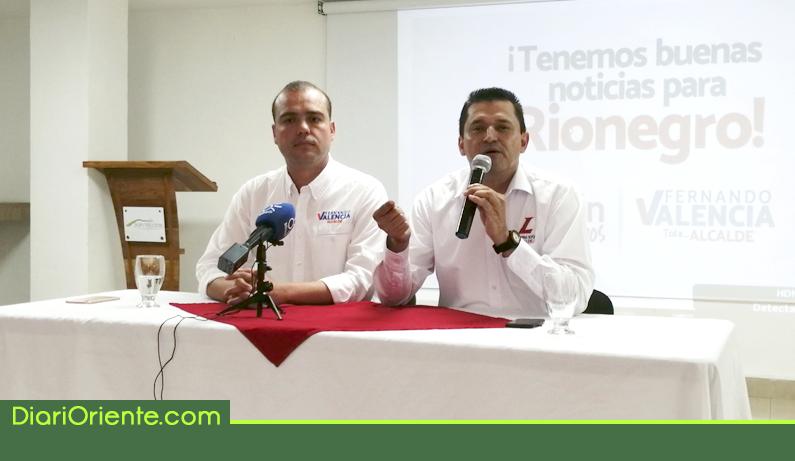 Photo of Fernando Valencia y Hernán Ospina se unen en la carrera por la Alcaldía de Rionegro