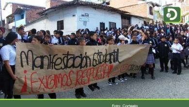 Photo of Paro de estudiantes en San Vicente por traslado de rector