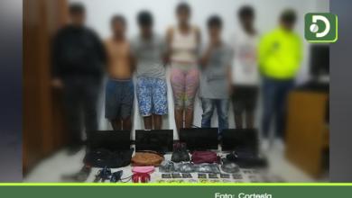 Photo of En Rionegro, capturan 5 venezolanos por robo a mano armada y tráfico de estupefacientes