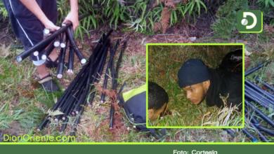 Photo of Tres sujetos dejaron sin teléfono e internet a más de 50 familias en Rionegro