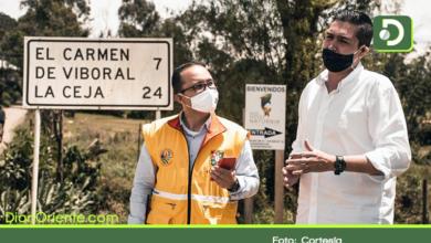 Photo of Alcaldes se comprometen con la pavimentación de la vía El Santurario – El Carmen