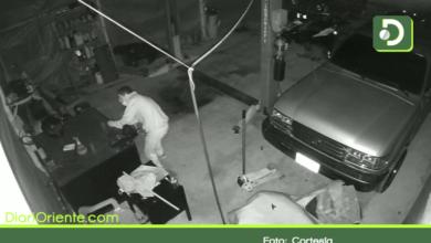 Photo of En video quedó registrado robo a un taller mecánico en Rionegro