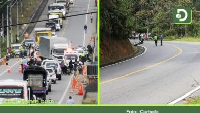 Photo of Accidentes de tránsito esta mañana, dejaron 3 muertos en vías del Oriente Antioqueño