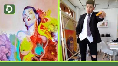 Photo of El pintor Picatto nos muestra sus obras de estilo Pop Art.