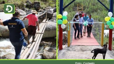 Photo of Campesinos en Nariño, ahora cuentan con un puente seguro que los comunica con otras veredas