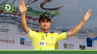 Photo of El ciclista Alexander Gil de Marinilla, nuevo líder de la Vuelta a Colombia.