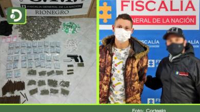 Photo of Rionegro: Golpe a «Los Pamplona», capturan a 'Junior' con arma, munición y drogas