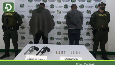 Photo of En Sonsón, capturan dos hombres de 32 y 34 años por porte ilegal de armas