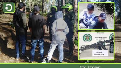 Photo of Decomisan motos y un arma neumática a jóvenes que atemorizaron comunidad en Guarne