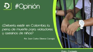 Photo of ¿Debería existir en Colombia la pena de muerte para violadores y asesinos de niños?