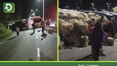 Photo of Accidentes simultáneos generaron cierres durante varias horas en la Autopista Medellín – Bogotá