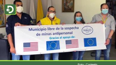 Photo of El Carmen uno de los municipios más extensos del Oriente, declarado libre de minas antipersonal