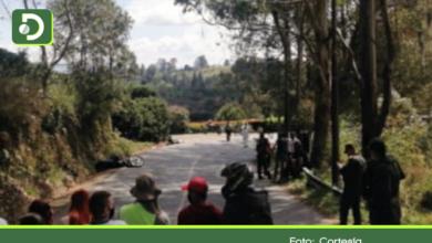 Photo of Fuerte choque entre motociclistas deja un muerto en la vía hacia San Vicente