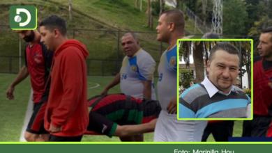 Photo of Alcalde de Marinilla sufrió una fractura de peroné en medio de un partido de fútbol
